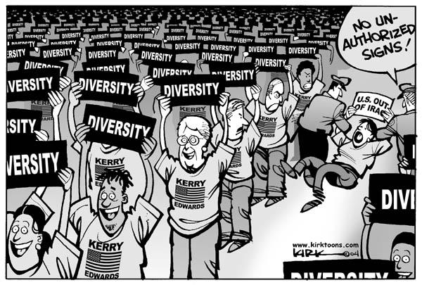 Cartoonist Kirk Anderson  Kirk Anderson's Editorial Cartoons 2004-07-29 Iraq