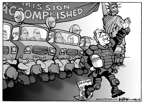 Kirk Anderson  Kirk Anderson's Editorial Cartoons 2004-11-10 Constitution