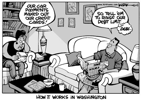 Cartoonist Kirk Anderson  Kirk Anderson's Editorial Cartoons 2004-11-23 family