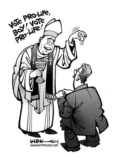 Kirk Anderson  Kirk Anderson's Editorial Cartoons 2004-05-17 civil liberty