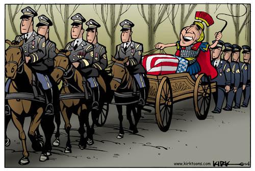 Cartoonist Kirk Anderson  Kirk Anderson's Editorial Cartoons 2004-05-27 Iraq