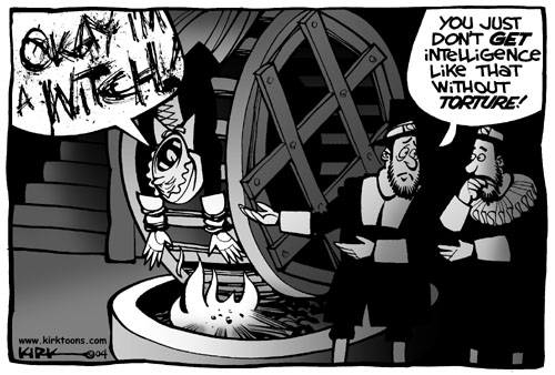 Cartoonist Kirk Anderson  Kirk Anderson's Editorial Cartoons 2004-06-22 Iraq