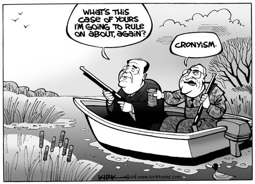 Kirk Anderson  Kirk Anderson's Editorial Cartoons 2004-02-08 Supreme Court
