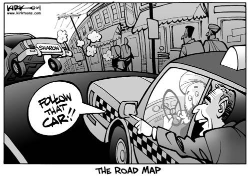 Kirk Anderson  Kirk Anderson's Editorial Cartoons 2004-04-16 Israel