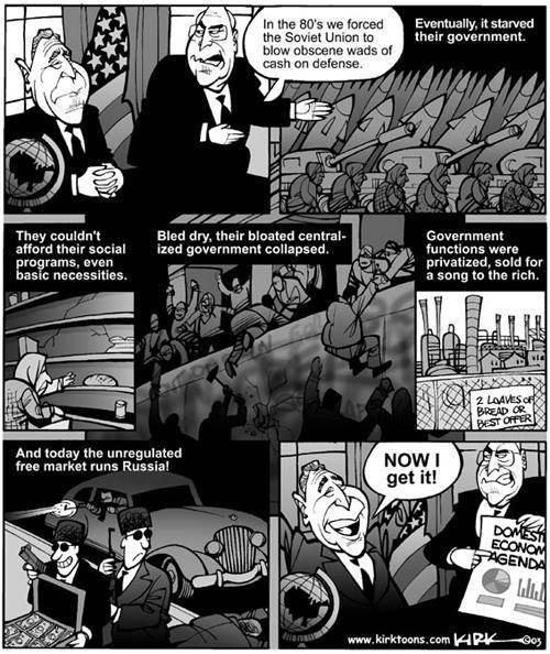 Kirk Anderson  Kirk Anderson's Editorial Cartoons 2003-12-08 economy