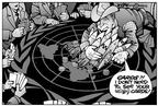 Cartoonist Kirk Anderson  Kirk Anderson's Editorial Cartoons 2003-03-08 gun