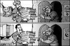 Cartoonist Kirk Anderson  Kirk Anderson's Editorial Cartoons 2006-05-03 science politicization