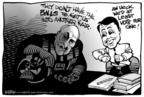 Cartoonist Kirk Anderson  Kirk Anderson's Editorial Cartoons 2004-10-06 ball