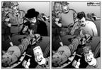 Cartoonist Kirk Anderson  Kirk Anderson's Editorial Cartoons 2004-06-16 gun