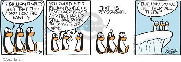 The readers: ecology comic strip really