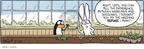 Cartoonist Alex Hallatt  Arctic Circle 2009-03-28 gardening