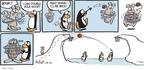 Cartoonist Alex Hallatt  Arctic Circle 2010-02-14 iceberg
