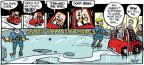 Cartoonist Alex Hallatt  Arctic Circle 2014-03-09 sport