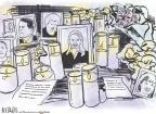 Cartoonist Rex Babin  Rex Babin's Editorial Cartoons 2011-01-10 gun