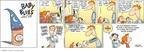 Cartoonist Rick Kirkman Jerry Scott  Baby Blues 2009-01-25 mix