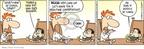 Cartoonist Rick Kirkman Jerry Scott  Baby Blues 2009-02-23 booger