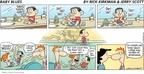 Cartoonist Rick Kirkman Jerry Scott  Baby Blues 2009-05-31 father's day