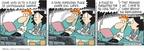 Cartoonist Rick Kirkman Jerry Scott  Baby Blues 2009-07-06 behind