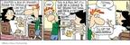 Cartoonist Rick Kirkman Jerry Scott  Baby Blues 2009-07-27 behind