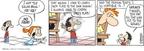 Cartoonist Rick Kirkman Jerry Scott  Baby Blues 2010-01-05 plate