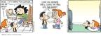 Cartoonist Rick Kirkman Jerry Scott  Baby Blues 2010-01-07 chase