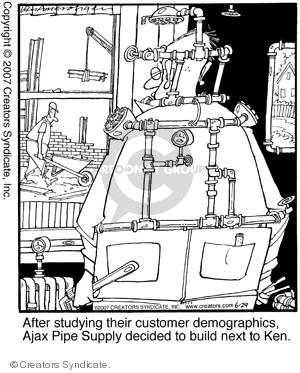 Comic Strip Jerry Van Amerongen  Ballard Street 2007-06-29 creative