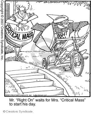 Cartoonist Jerry Van Amerongen  Ballard Street 2007-07-04 nuclear