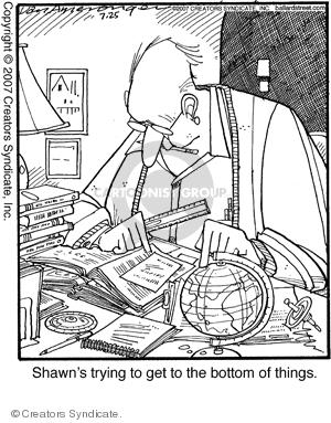 Cartoonist Jerry Van Amerongen  Ballard Street 2007-07-25 book