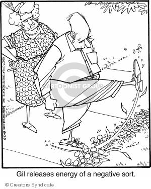 Comic Strip Jerry Van Amerongen  Ballard Street 2007-08-25 negativity