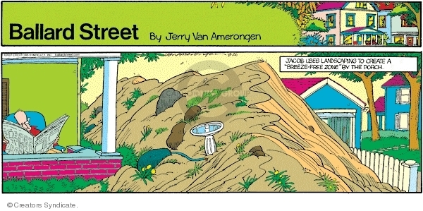Comic Strip Jerry Van Amerongen  Ballard Street 2007-08-26 breeze