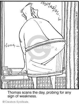 Comic Strip Jerry Van Amerongen  Ballard Street 2007-08-27 day