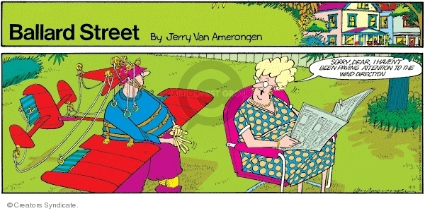 Cartoonist Jerry Van Amerongen  Ballard Street 2007-09-02 direction