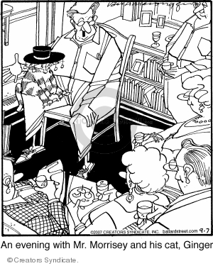 Comic Strip Jerry Van Amerongen  Ballard Street 2007-09-07 cat