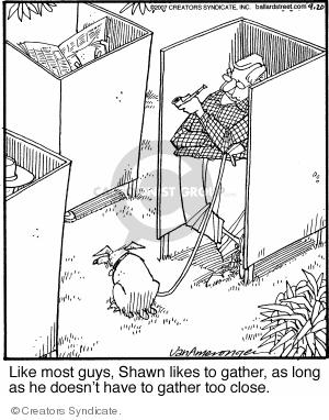 Comic Strip Jerry Van Amerongen  Ballard Street 2007-09-20 social