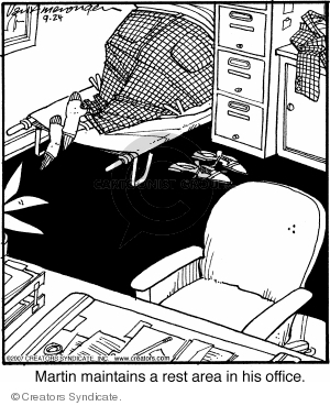 Comic Strip Jerry Van Amerongen  Ballard Street 2007-09-24 work