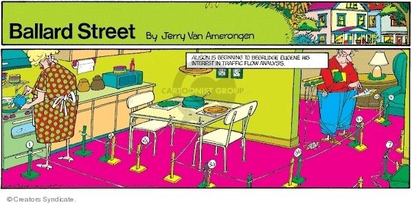Cartoonist Jerry Van Amerongen  Ballard Street 2007-10-07 relationship