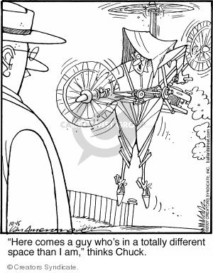 Comic Strip Jerry Van Amerongen  Ballard Street 2007-10-15 personality