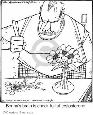 Comic Strip Jerry Van Amerongen  Ballard Street 2007-10-30 male