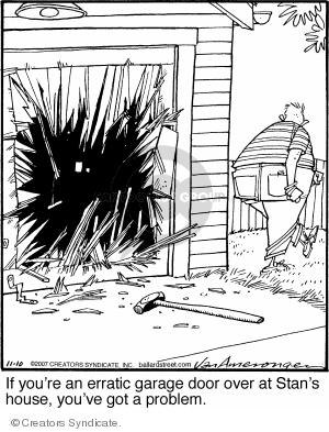Comic Strip Jerry Van Amerongen  Ballard Street 2007-11-10 Stan