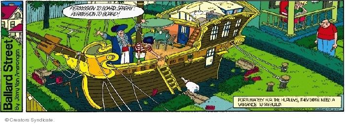 Comic Strip Jerry Van Amerongen  Ballard Street 2007-11-25 board
