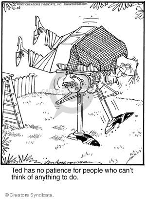 Comic Strip Jerry Van Amerongen  Ballard Street 2007-11-29 inventor