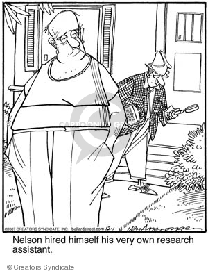 Comic Strip Jerry Van Amerongen  Ballard Street 2007-12-01 science