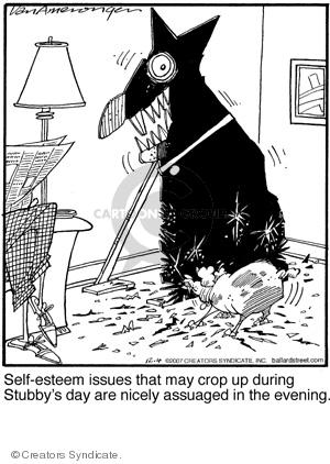Comic Strip Jerry Van Amerongen  Ballard Street 2007-12-04 behavior