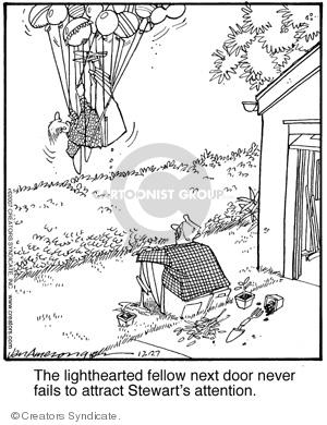Comic Strip Jerry Van Amerongen  Ballard Street 2007-12-27 stunt