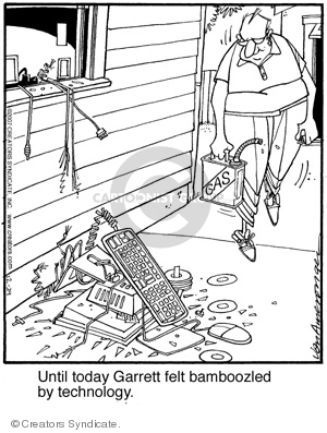 Comic Strip Jerry Van Amerongen  Ballard Street 2007-12-29 fire