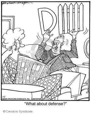 Comic Strip Jerry Van Amerongen  Ballard Street 2008-01-07 communicate