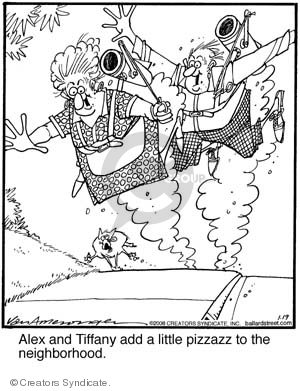 Comic Strip Jerry Van Amerongen  Ballard Street 2008-01-19 Alex