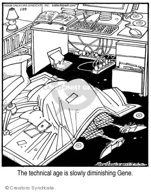Comic Strip Jerry Van Amerongen  Ballard Street 2008-01-24 depression