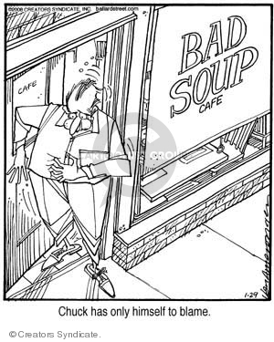Comic Strip Jerry Van Amerongen  Ballard Street 2008-01-29 food