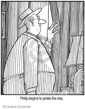 Comic Strip Jerry Van Amerongen  Ballard Street 2008-02-12 day